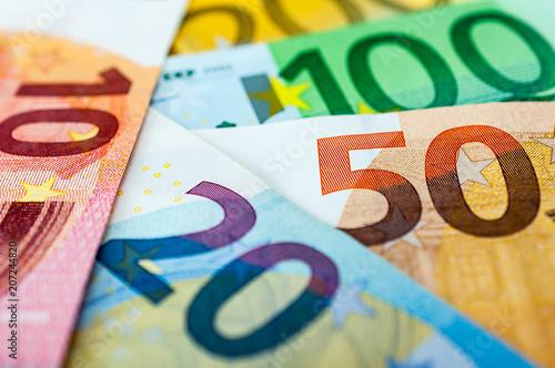 Leinwanddruck Bild Finanzen
