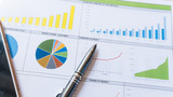 business report statement with graph and data analysis - 207252403
