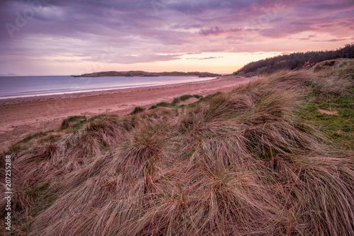 Fotobehang Cappuccino Newborough Beach Anglesey Nort Wales UK