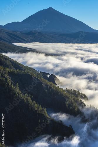 Teide y mar de nubes