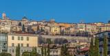 Panorama with one part of upper city Citta Alta in Bergamo - 207279051