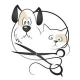 Cat and dog haircut - 207284044