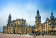 The amazing city of Dresden in Germany. European historical center and splendor.