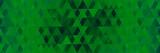 абстрактный фон зеленые треугольники