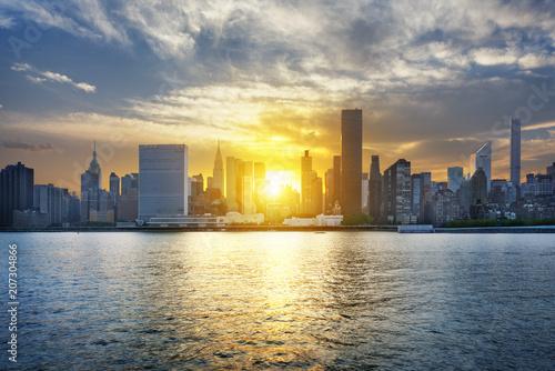 Fotobehang New York New York City skyline