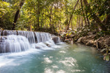 Tropical Erawan waterfalls