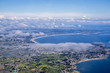 aerial view of West french coast - 207308283
