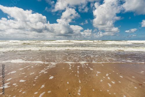 bright sunny seascape