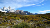 Landscape near Fitz Roy in Patagonia (Argentina)