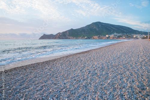 Albir beach early morning
