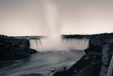 Niagara Falls in the Evening with Long Exposure Canada