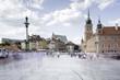 Widok na rynek starego miasta w Warszawie - 207326832
