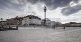 Widok na rynek starego miasta w Warszawie
