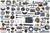 collage parts for auto - 207329409