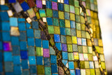 Colorful mosaic texture close-up - 207330077