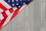 American Flag Flat Lay - 207347076