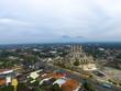 Aerial of Al Aqsha Mosque islamic center in Klaten Indonesia  - 207350254