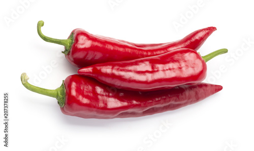 Aluminium Hot chili peppers Red chili pepper isolated