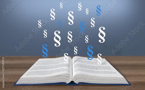 3D book z akapitem