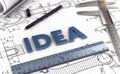 3D Plan Idea © fotomek