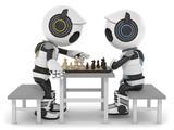 3D Roboter Schach