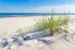 Leinwandbild Motiv Strand an der Ostsee