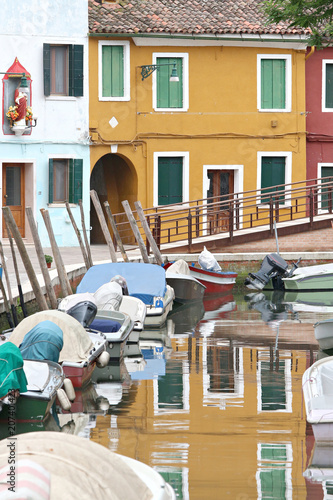 reflection in burano