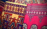 precious ancient colored wool rugs with vintage effect - 207440085
