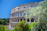 Colosseum. Rome, Italy. Colosseum. Rome, Italy. Roman arcitecture. Most popular landmark in Rome.