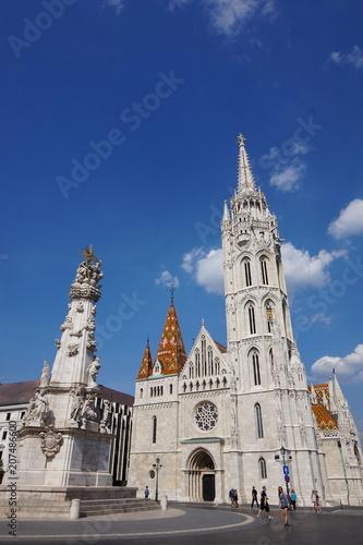 Fotobehang Boedapest Matthiaskirche in Budapest, Ungarn
