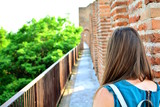 Ancient walls of Cittadella, beautiful village in Padua, Veneto, Italy. - 207496031