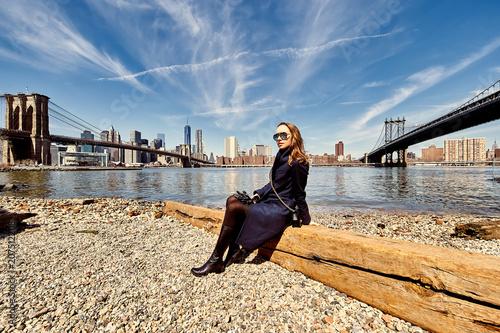Woman in Brooklyn, New York City