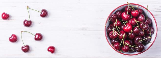 Fresh ripe cherry © Daria