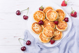 Cottage cheese pancakes - 207517433