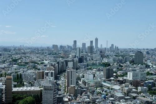 Fotobehang Tokio 東京百景