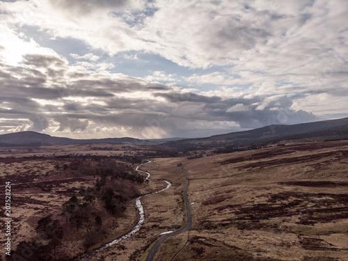 Plexiglas Diepbruine Ireland, Wicklow Mountain Park