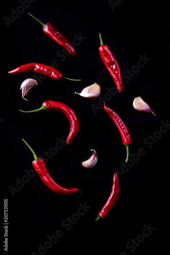 Aluminium Hot chili peppers Chiles Ajos
