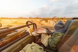 Little girl on safari - 207535033