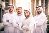 Group of businessmen in Dubai