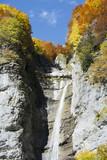 Cascade en automne - 207567224