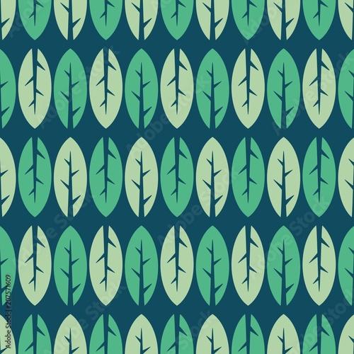 Seamless leaf pattern. - 207571609