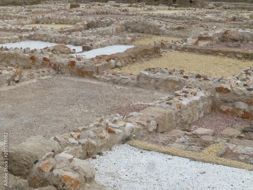Aluminium Donkergrijs Ciudad romana de Complutum, origen de la actual Alcala de Henares (Madrid,España)