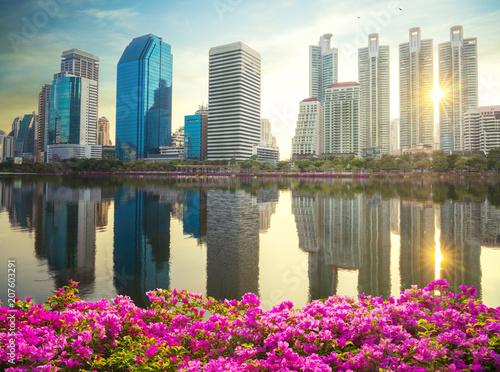 Aluminium Bangkok Benchakitti park