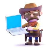 Vector 3d Cowboy online - 207604455