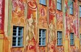 Bamberg, Altes Rathaus, Fassadenmalerei