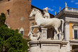 monument of the equestrian in rome