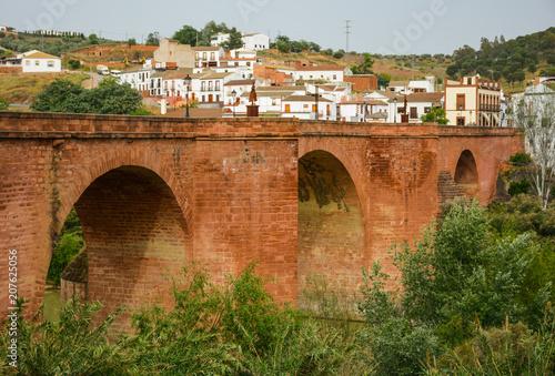 Poster Montoro, puente sobre el Guadalquivir, Córdoba, turismo por Andalucía, España