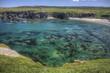 shallow rocky lagoon and beach near Bonavista, Newfoundland