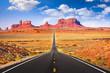 Leinwanddruck Bild - Monument Valley, Arizona, USA