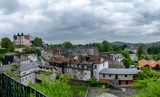 view of the city of Pau, french town in Aquitaine - 207633810